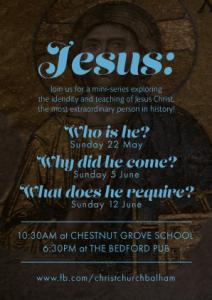 Jesus-sermon-series